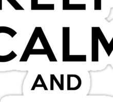 Keep Calm and Adore Stefan From Vampire Diaries LS Sticker