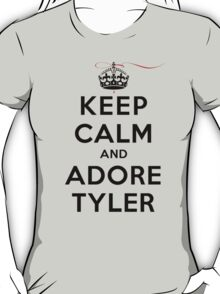 Keep Calm and Adore Tyler From Vampire Diaries LS T-Shirt