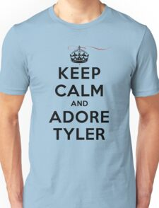 Keep Calm and Adore Tyler From Vampire Diaries LS Unisex T-Shirt