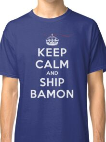 Keep Calm and SHIP Bamon (Vampire Diaries) DS Classic T-Shirt