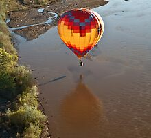 Touching the Rio Grande by doorfrontphotos