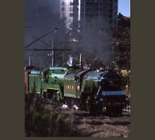 Flying Scotsman & 3801 @ Parramatta 1989 Unisex T-Shirt