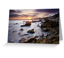 Corona Del Mar Best Sunset Greeting Card