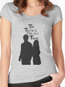 The Truth is Still Out There Women's Fitted Scoop T-Shirt