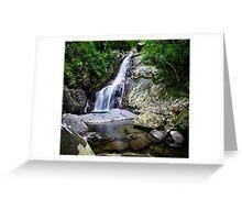 Hiji Falls Waterfall Greeting Card
