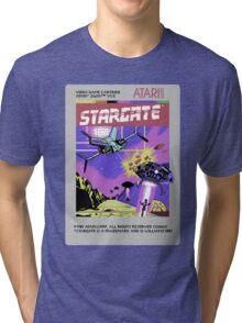 8bit Stargate Cartridge Tri-blend T-Shirt