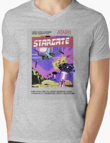 8bit Stargate Cartridge Mens V-Neck T-Shirt