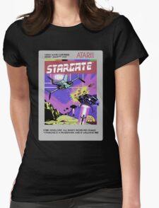 8bit Stargate Cartridge Womens Fitted T-Shirt