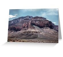 The battleship from Plateau Point Grand Canyon 1957 04280023 Greeting Card