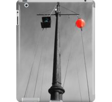 Porthleven Warning Mast Iso iPad Case/Skin