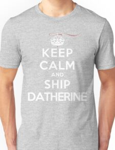Keep Calm and SHIP Datherine (Vampire Diaries) DS Unisex T-Shirt