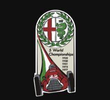 Alfa Romeo - 5 World Championships Kids Clothes