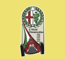 Alfa Romeo - 5 World Championships One Piece - Short Sleeve