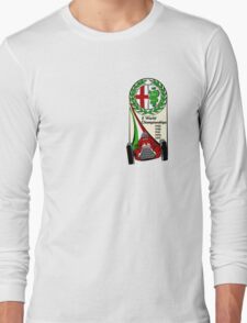 Alfa Romeo - 5 World Championships Long Sleeve T-Shirt