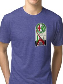 Alfa Romeo - 5 World Championships Tri-blend T-Shirt