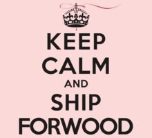 Keep Calm and SHIP Forwood (Vampire Diaries) LS by rachaelroyalty