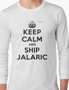 Keep Calm and SHIP Jalaric (Vampire Diaries) LS Long Sleeve T-Shirt
