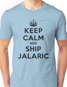 Keep Calm and SHIP Jalaric (Vampire Diaries) LS Unisex T-Shirt