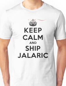 Keep Calm and SHIP Jalaric (Vampire Diaries) LS Unisex T-Shirt