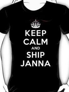 Keep Calm and SHIP Janna (Vampire Diaries) DS T-Shirt