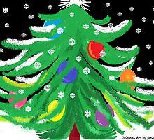 Oy, Tannenbaum! (A Christmas Card) by Jana Gilmore