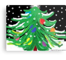 Oy, Tannenbaum! (A Christmas Card) Metal Print