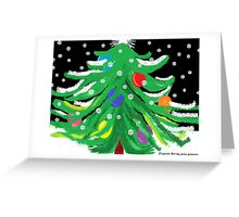 Oy, Tannenbaum! (A Christmas Card) Greeting Card