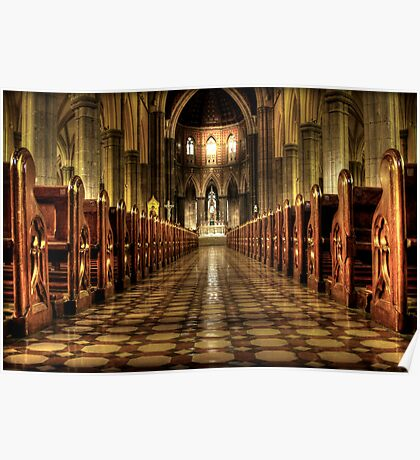 aisle of redemption  Poster