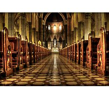 aisle of redemption  Photographic Print