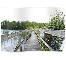 Twisted bridge Poster
