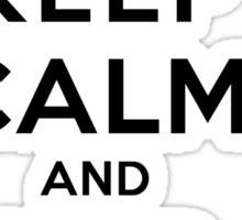 Keep Calm and SHIP Nian (Vampire Diaries) LS Sticker
