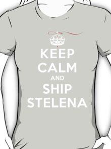 Keep Calm and SHIP Stelena (Vampire Diaries) DS T-Shirt