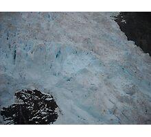 Blue Glacier Photographic Print
