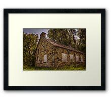 Ruine Framed Print
