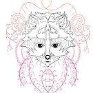 Custom Tattoo Design 2015 Raccoon by Junior Mclean