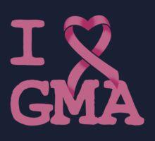 I Heart GMA - Breast Cancer Awareness Kids Tee
