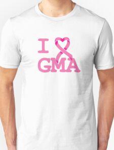 I Heart GMA - Breast Cancer Awareness Unisex T-Shirt