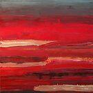 Red Interior by Bernadette Smith by smithrankenART