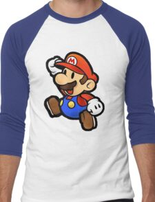 Mario Men's Baseball ¾ T-Shirt