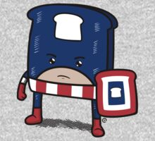 Captain American Bread Kids Tee