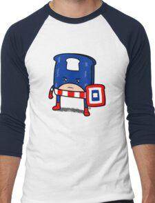 Captain American Bread Men's Baseball ¾ T-Shirt