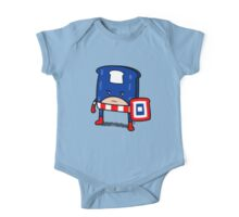 Captain American Bread One Piece - Short Sleeve