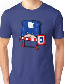 Captain American Bread Unisex T-Shirt