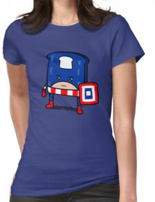 Captain American Bread Womens Fitted T-Shirt