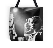 The future of music in Manchester Tote Bag