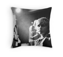The future of music in Manchester Throw Pillow