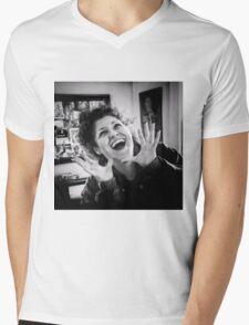 Humor Mens V-Neck T-Shirt
