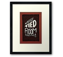 The Rug Framed Print