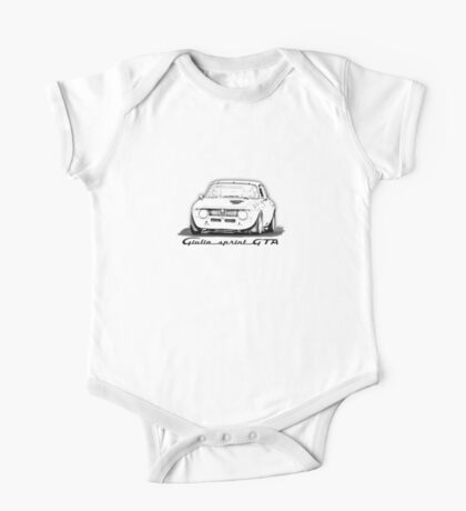 Alfa Romeo Giulia GTA One Piece - Short Sleeve