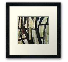 Undergrowth by Bernadette Smith Framed Print